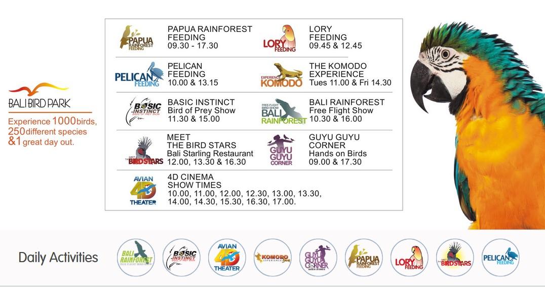 show_schedule_balibirdpark